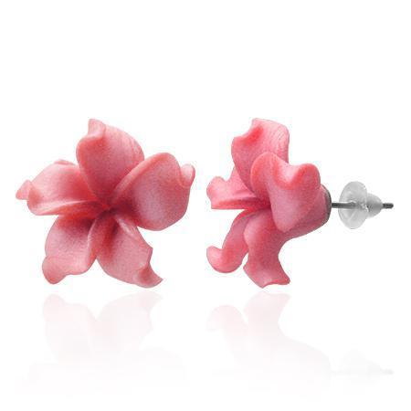 Cercei fantezie in forma de flori 0