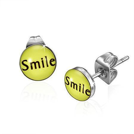 Cercei otel inox SMILE 0