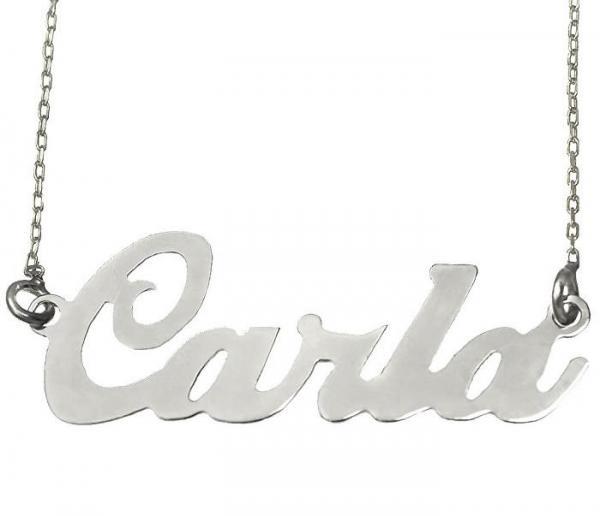 Colier din argint 925 personalizat cu nume 0