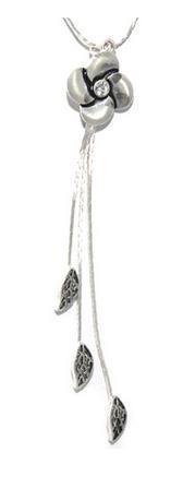 Colier elegant ajustabil cu floare 1