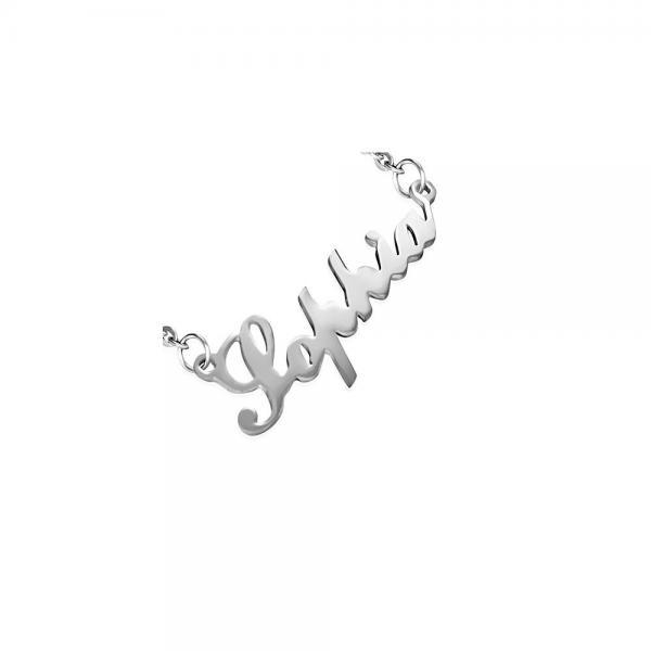 Colier otel inox cu nume Sophia 0
