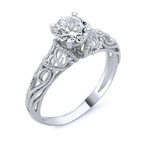 Inel argint 925 rodiat cu inimioare si zirconiu 0