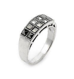 Inel argint 925 cu numeroase marcasite [0]