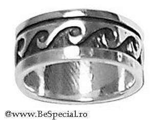 Inel argint 925 cu valuri [0]