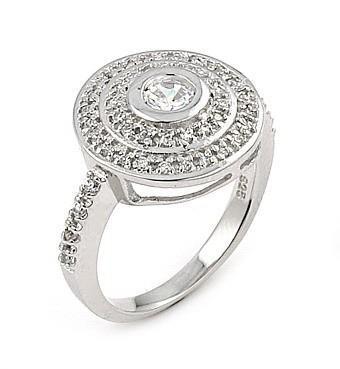 Inel argint 925 cu zirconii [0]