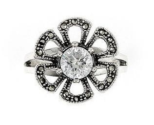 Inel argint 925 in forma de floare 1