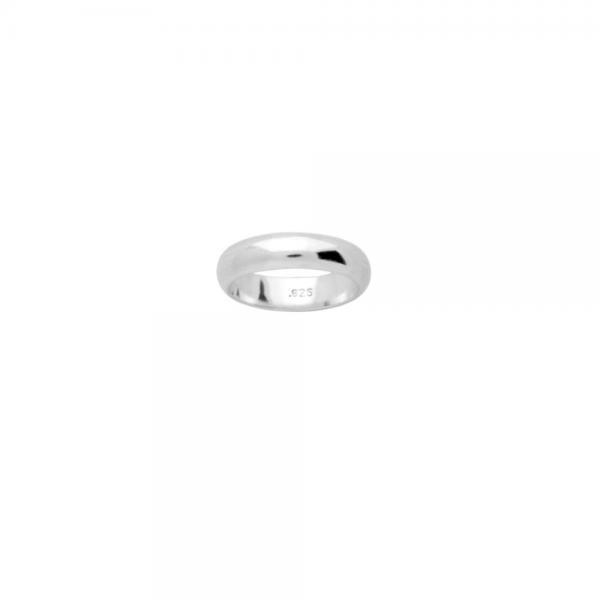Inel argint 925 model verigheta 5 mm 1