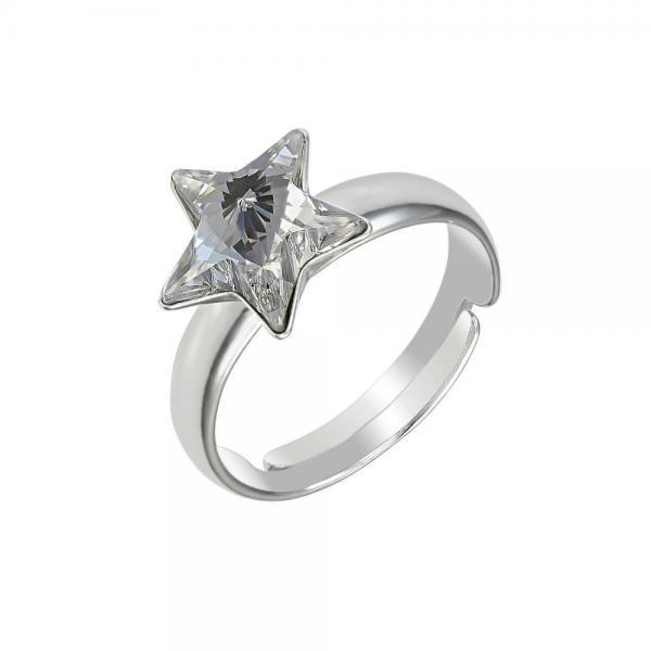 Inel argint 925 stea cu swarovski elements 0