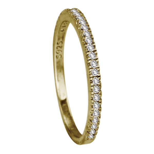 Inel elegant din argint 925 placat cu aur [0]
