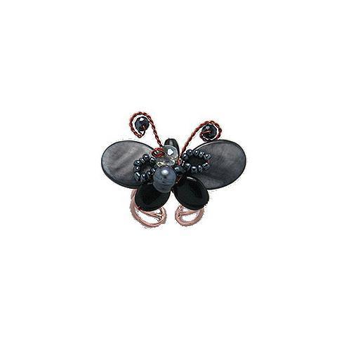 Inel fluture cu onix lucrat manual 0