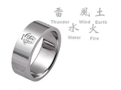 Inel otel inox cu diverse simboluri 1