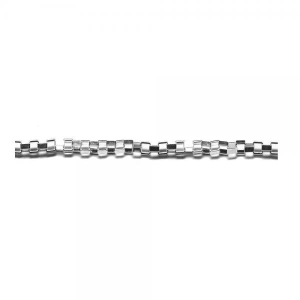 Lant argint 925 cu zale dreptunghiulare 1