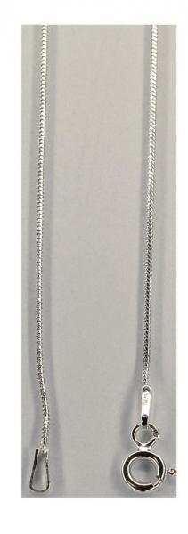 Lant argint 925 rodiat model sarpe 46 cm 2