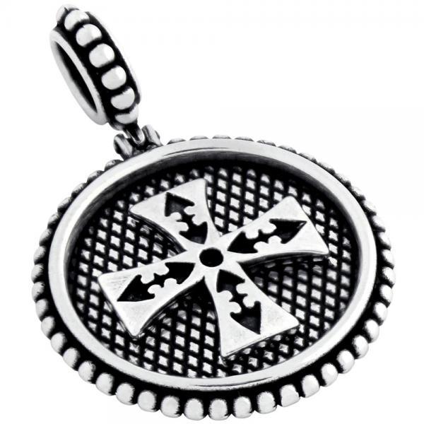 Medalion argint 925 cu cruce malteza PSX0436 0