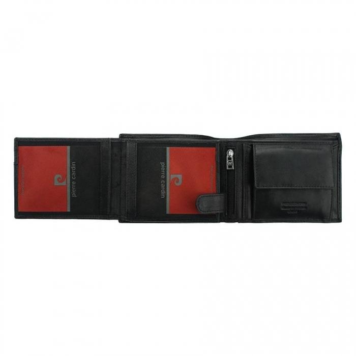 Portofel barbatesc de lux din piele naturala PORM300 cu protectie RFID 2