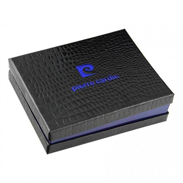 Portofel barbatesc de lux din piele naturala PORM300 cu protectie RFID 7