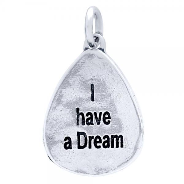 Pandant argint 925 cu doua fete I have a Dream si all things are possible PSX0601 1