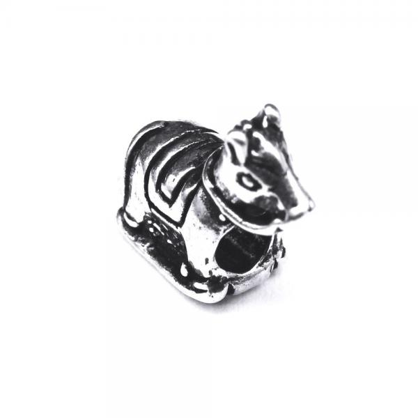 Pandant argint 925 calut pentru bratara tip charm 1