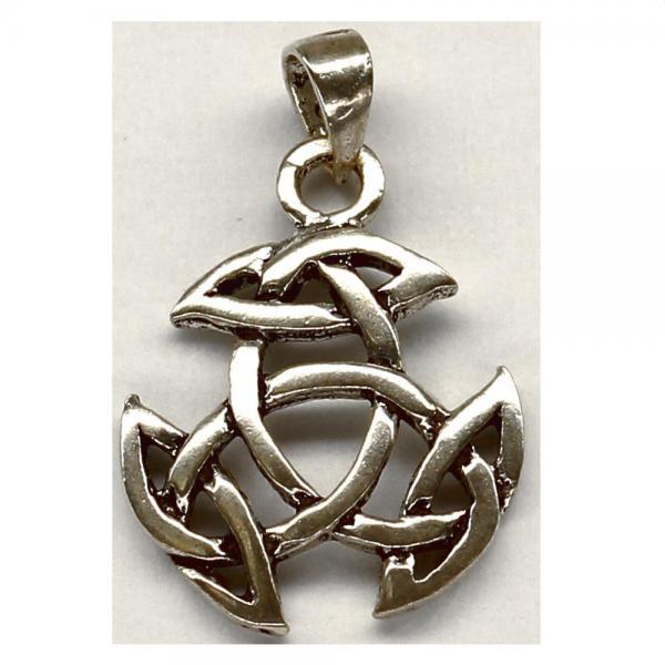 Pandant argint 925 cu simbolul trinity 0