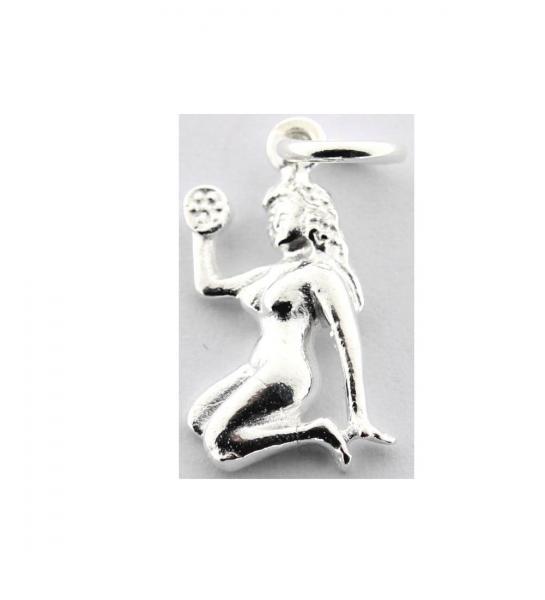 Pandant argint 925 cu simbolul zodiei fecioara 0