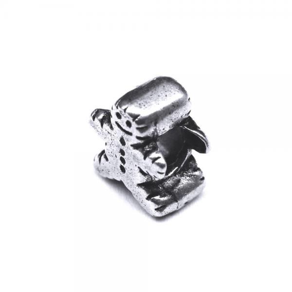 Pandant argint 925 om turta dulce pentru bratara tip charm 1