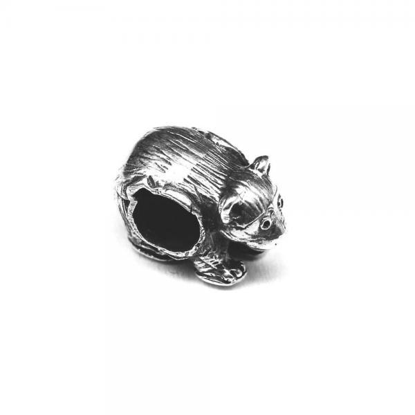 Pandant argint 925 urs pentru bratara tip charm 1