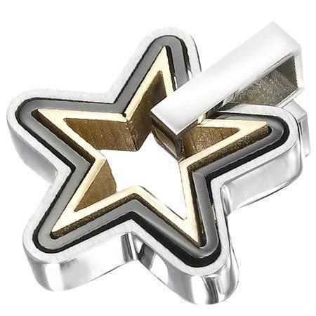 Pandantiv cu trei stele concentrice 0