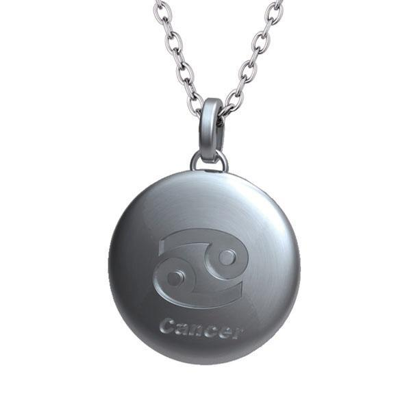 Pandant otel inox zodia Rac [0]