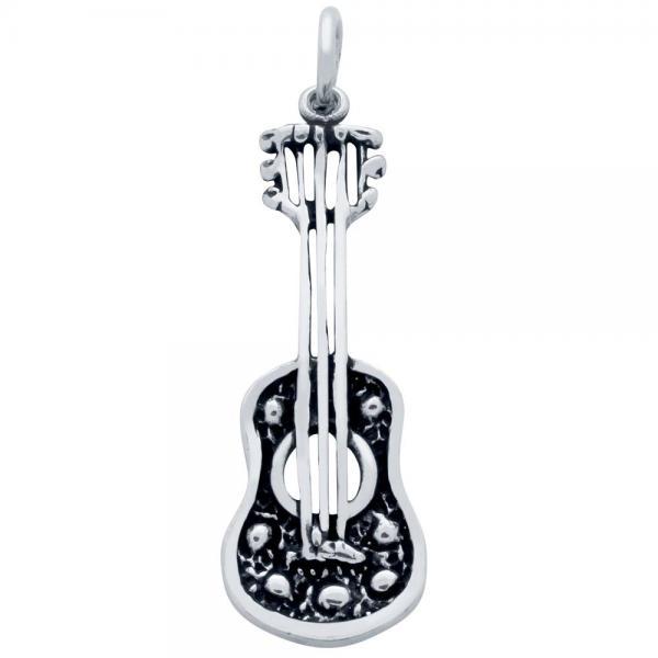 Pandantiv argint 925 chitara 1