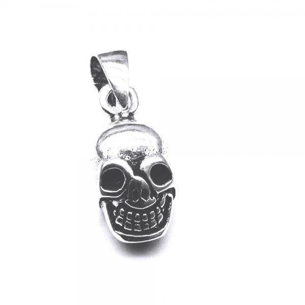 Pandantiv argint 925 craniu 0