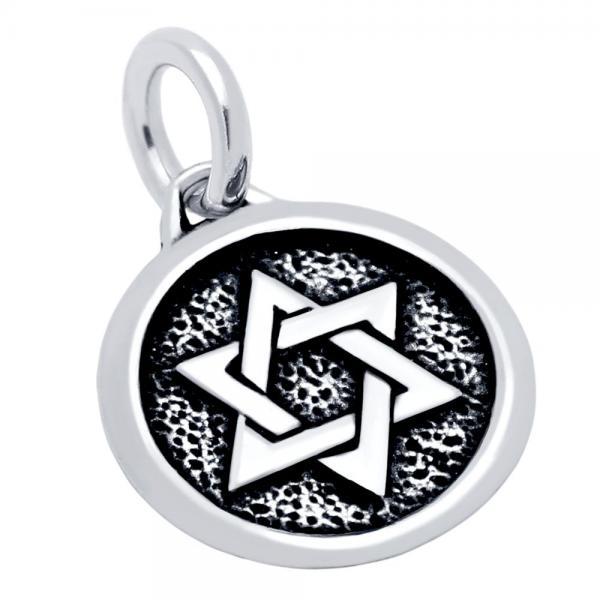 Pandantiv argint 925 cu Steaua lui David [0]