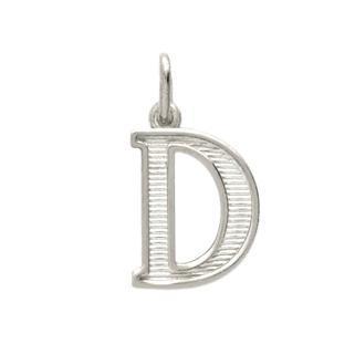 Pandantiv argint 925 cu litera D 0