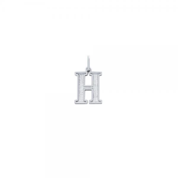 Pandantiv argint 925 cu litera H 0
