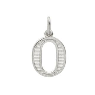 Pandantiv argint 925 cu litera O 0