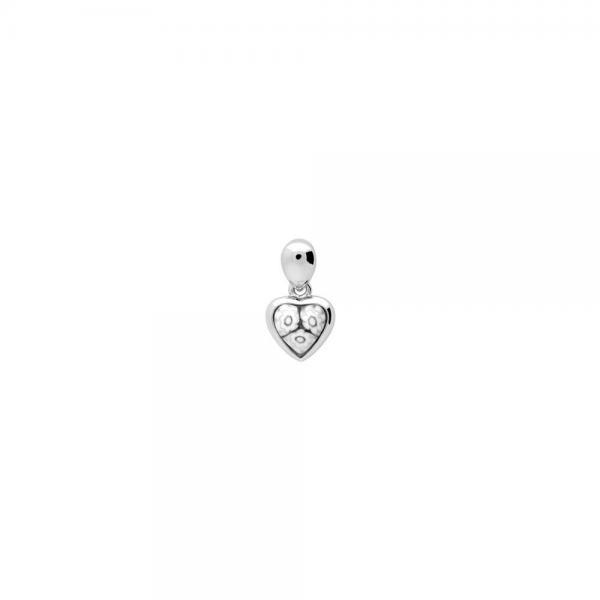 Pandantiv argint 925 cu sticla de Murano MILLEFIORI 1