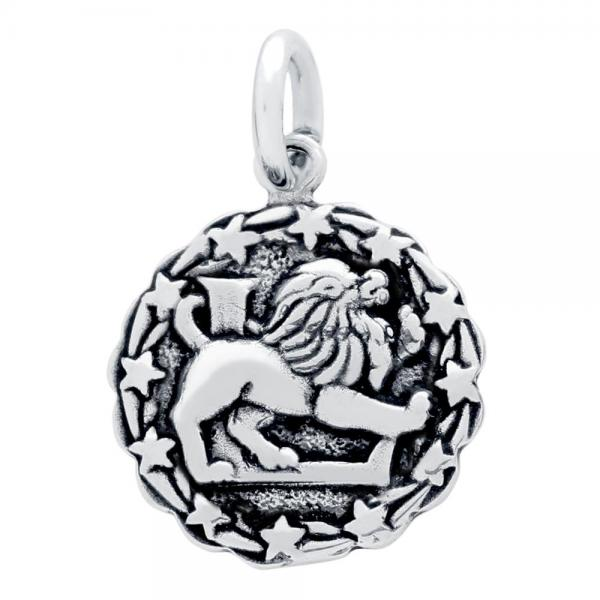 Pandantiv argint 925 cu zodia leu 1