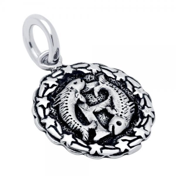 Pandantiv argint 925 cu zodia pesti 0