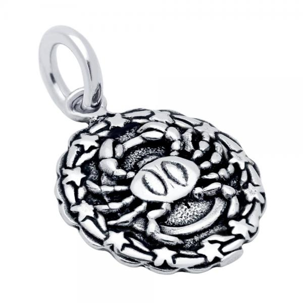 Pandantiv argint 925 cu zodia rac 0