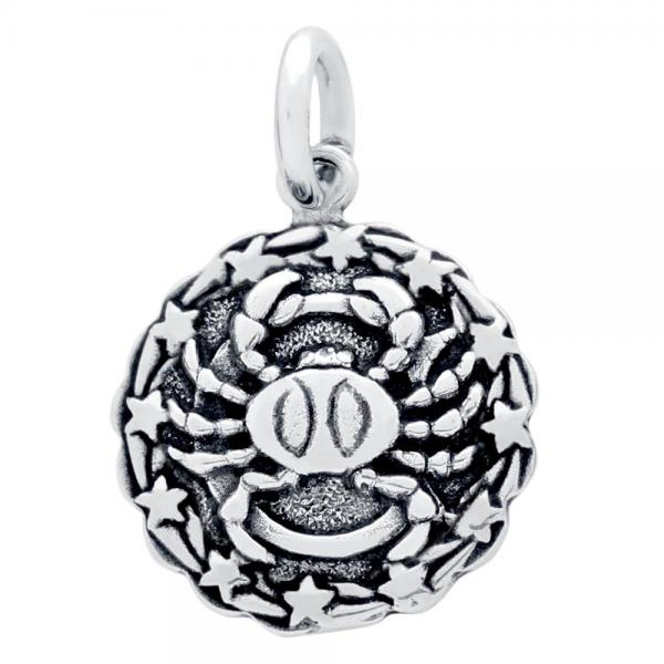 Pandantiv argint 925 cu zodia rac [1]