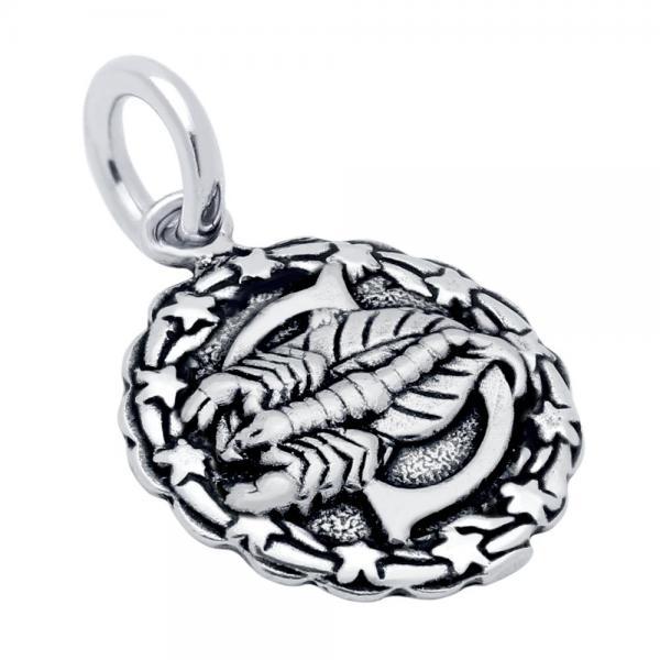 Pandantiv argint 925 cu zodia scorpion 0