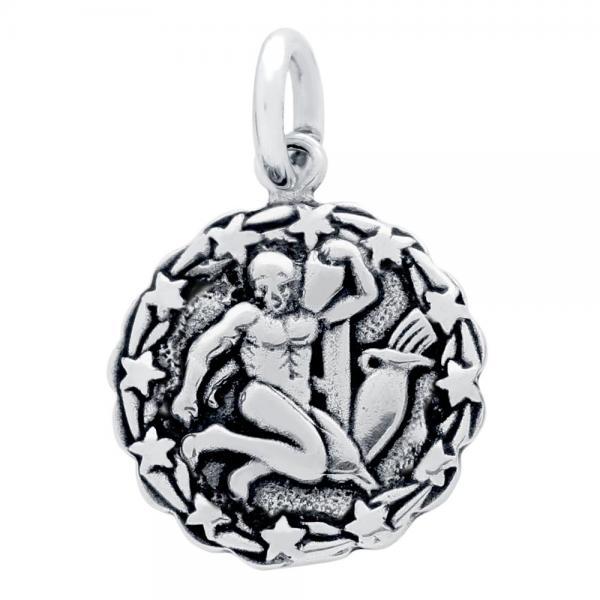 Pandantiv argint 925 cu zodia varsator 1