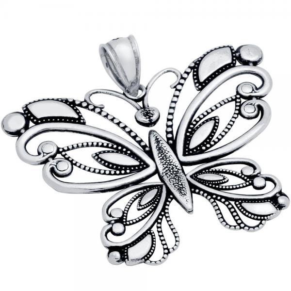 Pandantiv argint 925 fluture 0