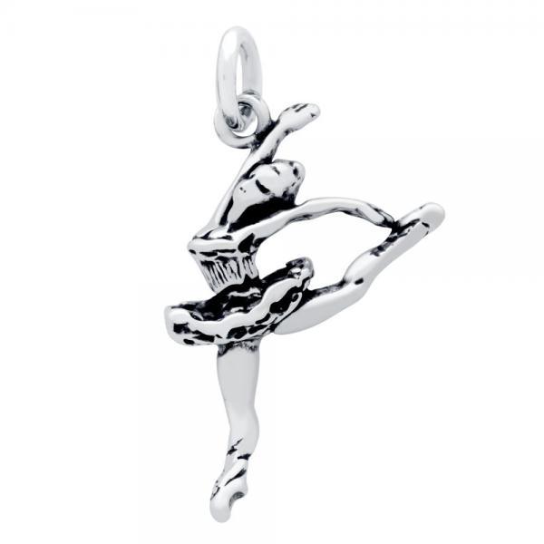 Pandantiv argint 925 in forma de balerina 0