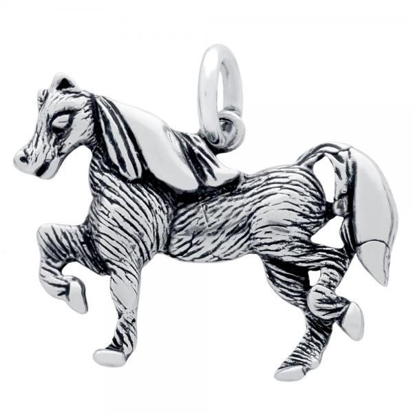 Pandantiv argint 925 in forma de calut 1