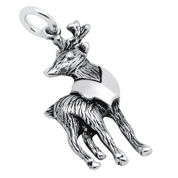 Pandantiv argint 925 in forma de cerb 0