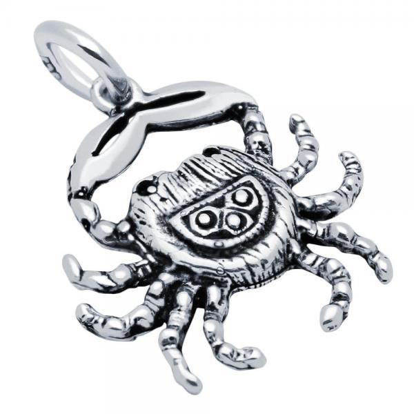 Pandantiv argint 925 in forma de crab 0