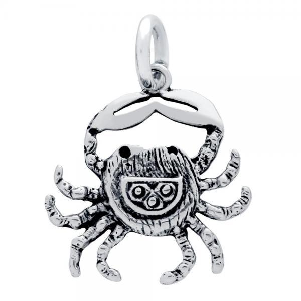 Pandantiv argint 925 in forma de crab 1