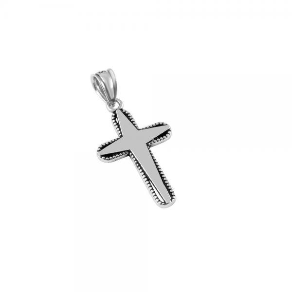 Pandantiv argint 925 in forma de cruce 0