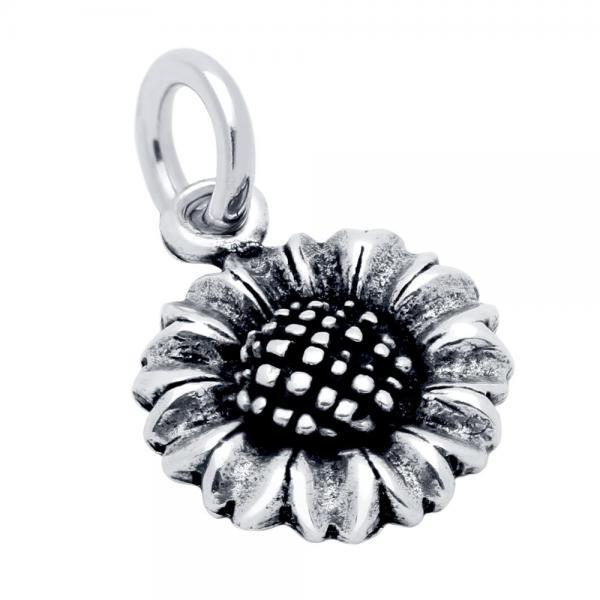 Pandantiv argint 925 in forma de floare 0