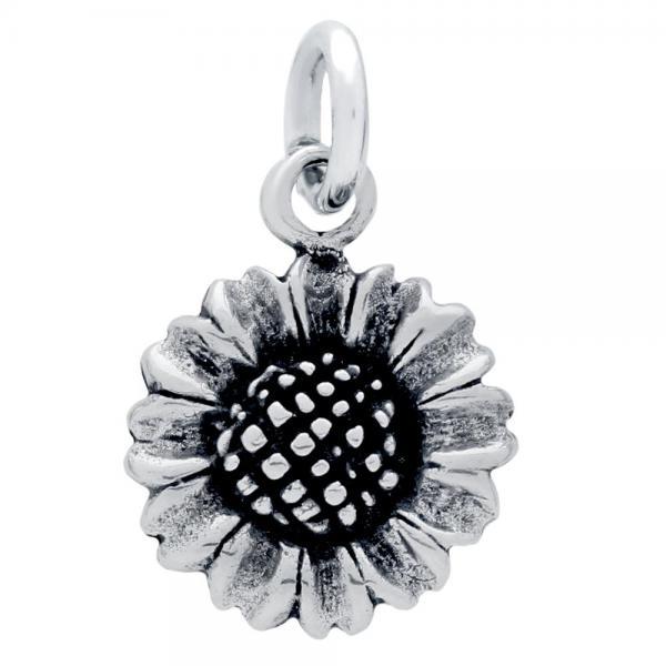 Pandantiv argint 925 in forma de floare 1